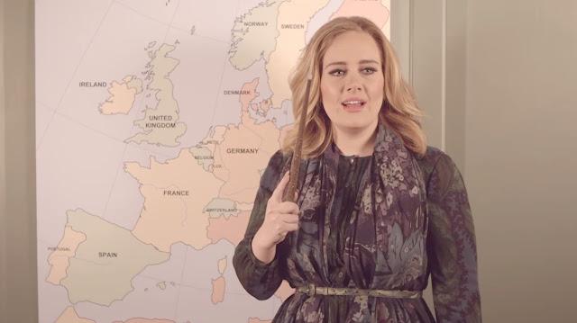 Adele fue la artista que vendió más discos en todo el mundo en 2015.