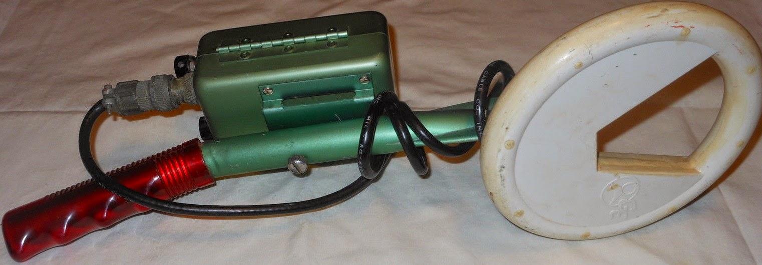DETECTEURS METAUX DE SECURITE, détecteurs métaux vintage, vintage métal detector, détecteurs de métaux anciens, old métal detector
