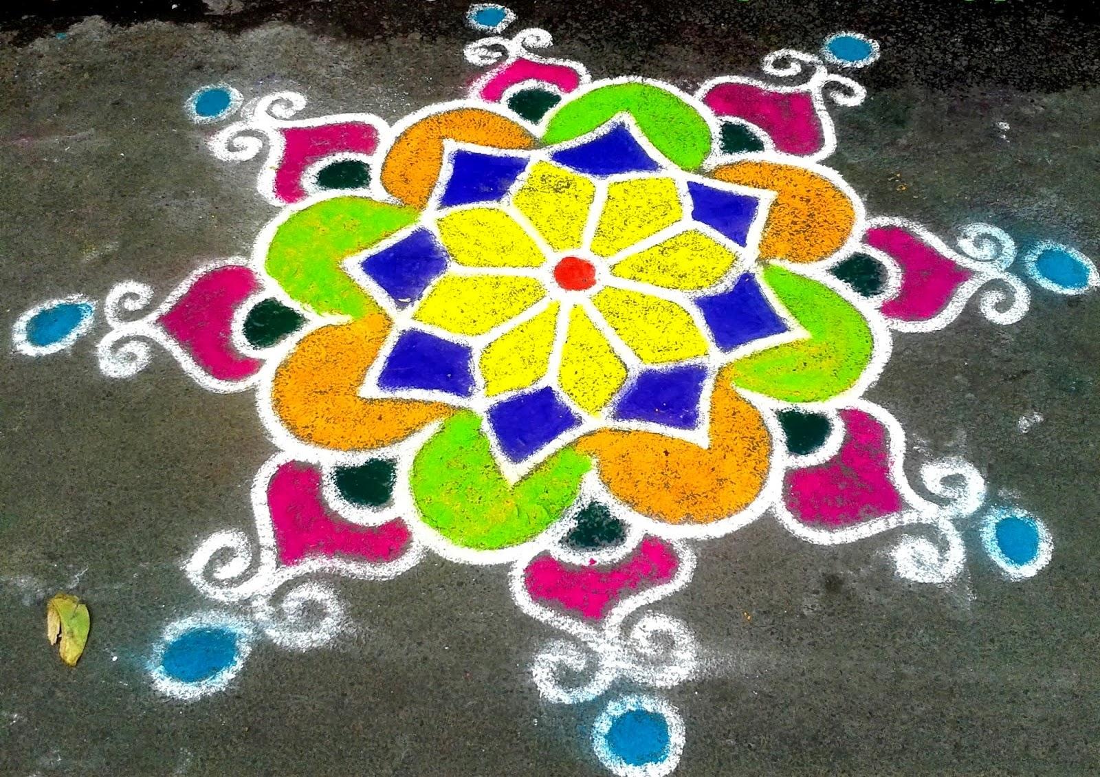 Rangoli Designs 2014
