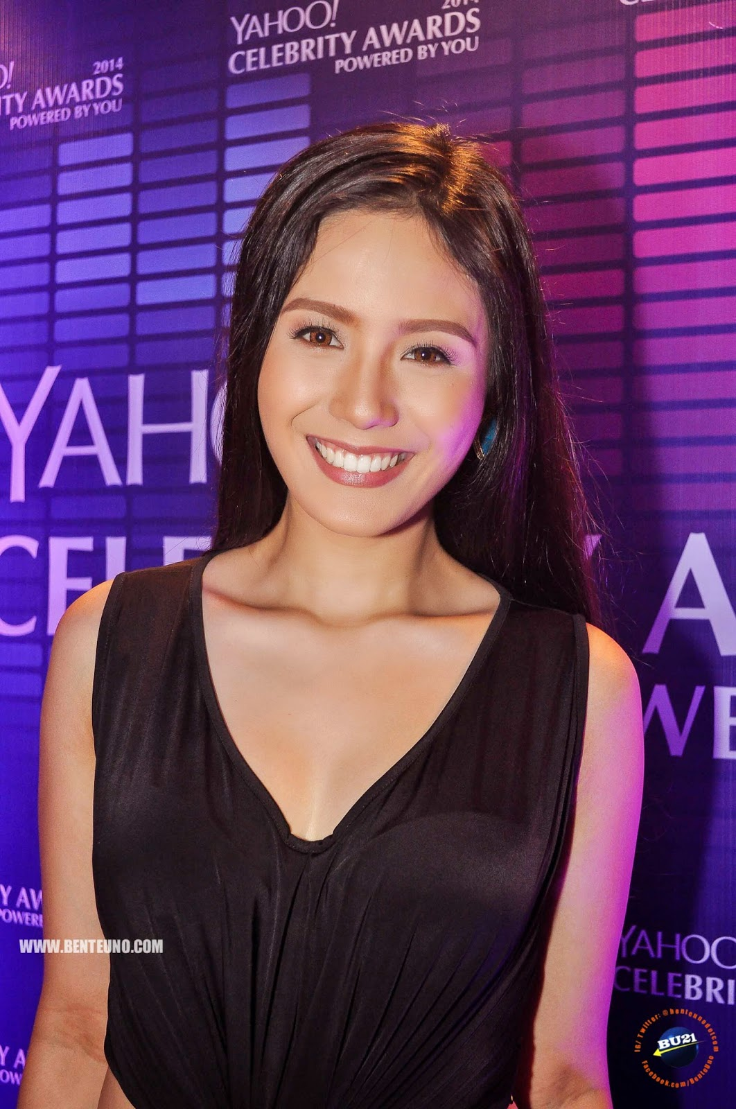 Ritz Azul at the media launch of Yahoo Celebrity Awards 2014