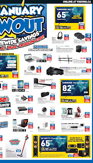 Visions Electronics Weekly Flyer January 18 - 24, 2019