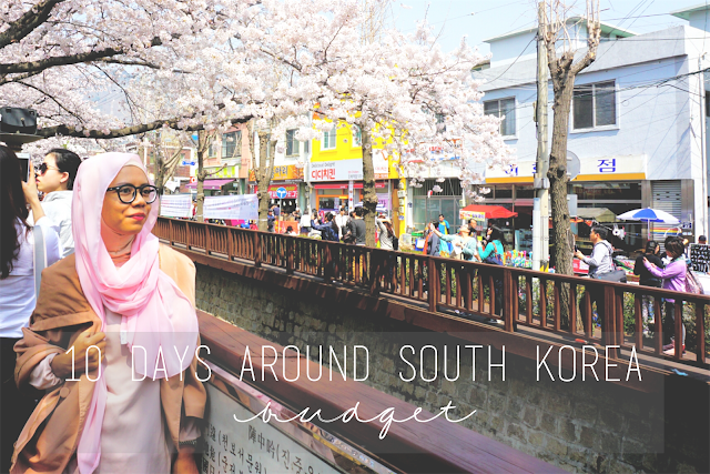 10 Days around South Korea: Budget