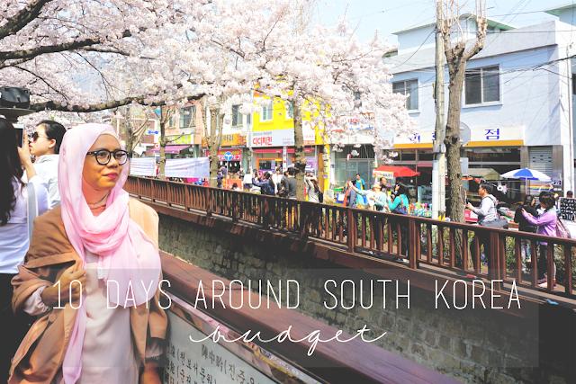 10 Days around South Korea: Budget