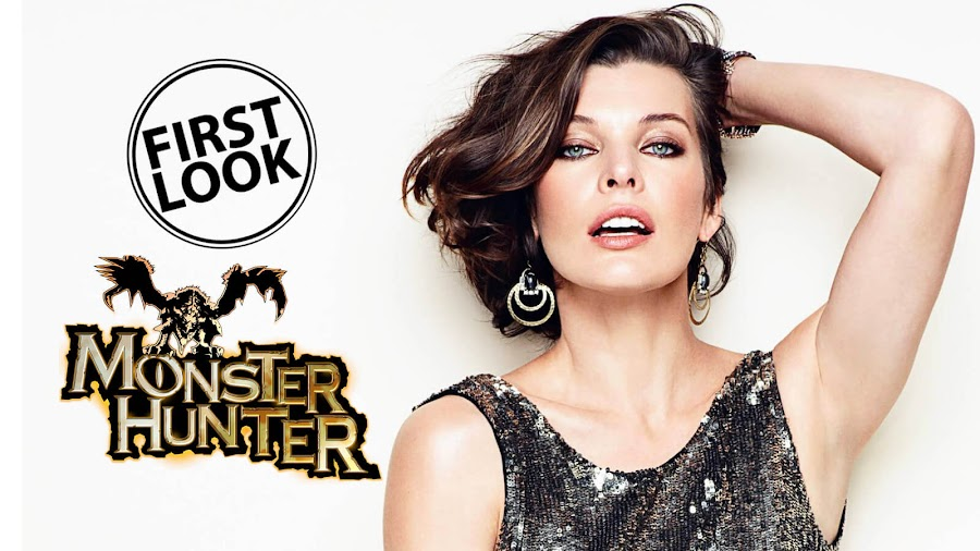 monster hunter movie official first look milla jovovich