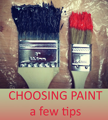 Military Mama Musings - Choosing Paint: a few tips