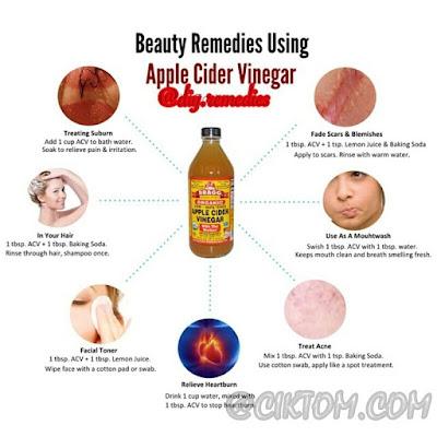 Saranan cara makan cuka epal yang disarankan di instagram @diy.remedies