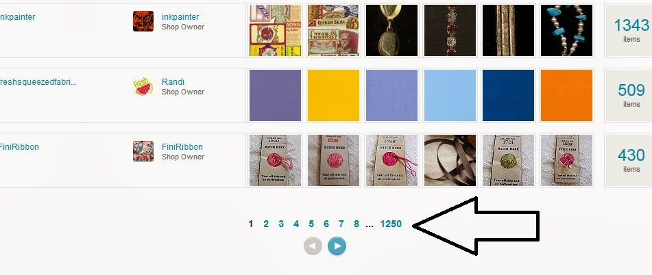 How to Find out How Many Shops on Etsy