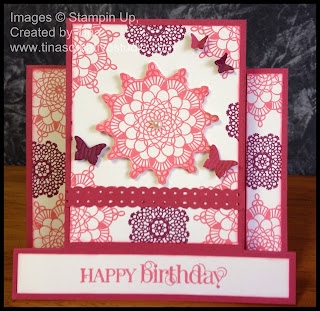 Delicate Doilies Centre Step Card