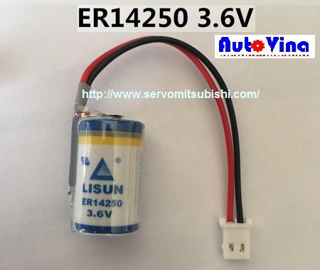 Pin LISUN ER14250 3.6V dùng cho PLC Delta các dòng DVP-SC, DVP-SX, DVP-EH, nuôi nguồn bộ nhớ, chạy thời gian thực