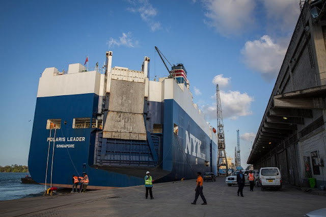 Port of Dar es Salaam is the principal port serving Tanzania