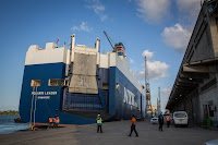 Port of Dar es Salaam is the principal port serving Tanzania