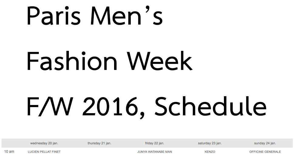 March Paris Fashion Week 2016.html