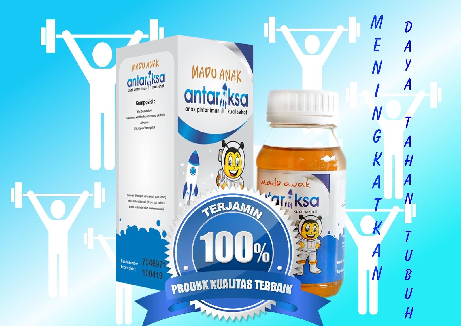 Kelebihan Vitamin Anak Madu Antariksa