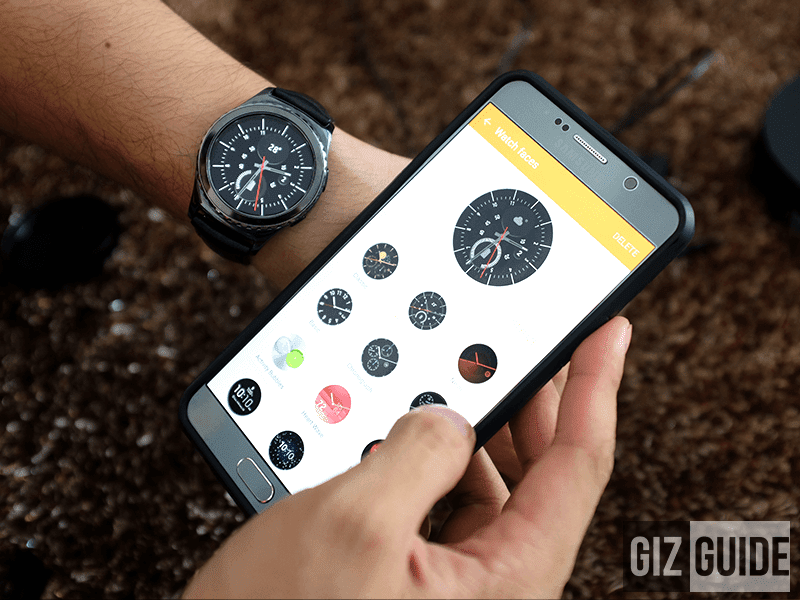 Gear S2 watch faces