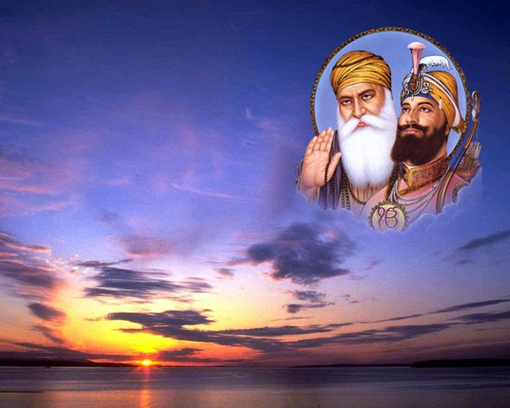 Free Mobile Wallpaper: Mobile Sikh Guru ji Wallpapers