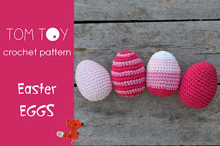 Easter eggs crochet pattern