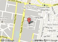 Mapa Ciudadela de Hanoi
