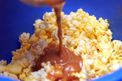 Marshmallow Amp Caramel Popcorn Sugar Cookie Bars Hugs And