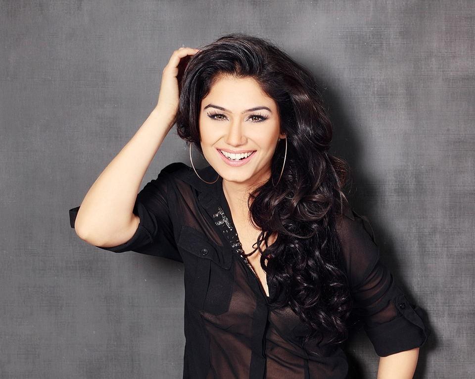Kangana Sharma in black transparent shirt photoshoot, Kangana Sharma hot photos, Kangana Sharma sexy, Kangana Sharma hot pics