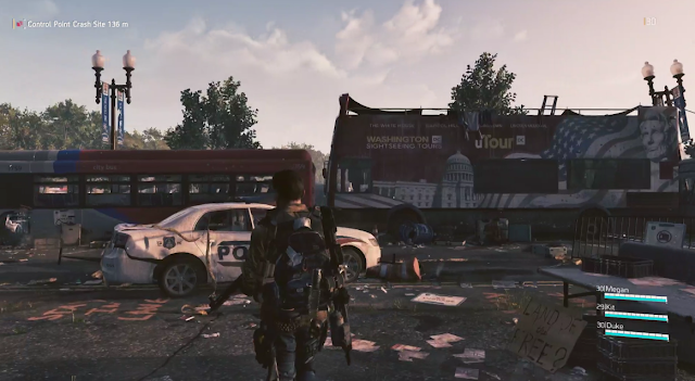 Tom Clancy's The Division 2 Washington D.C. sight-seeing tour Abraham Lincoln
