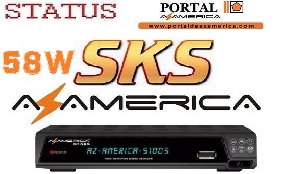 Resultado de imagem para STATUS AZAMERICA S1005 PORTAL AZAMERICA