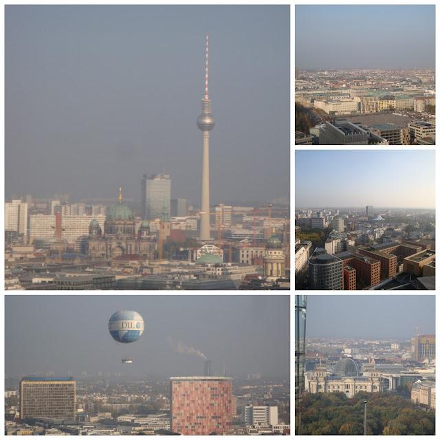 Top 15 coisas para fazer em Berlim - vista panorâmica de Berlim