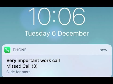 the latest f0dfe ab6f7 iPhone X/8/7/6 not showing missed calls on lock screen iOS 11.4/12 ...