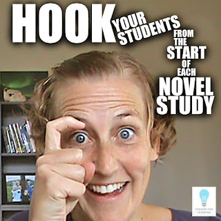 So you're looking for that perfect activity to hook the students from the start of a novel study? We're here to help. Today, we talk through the 3 crucial elements to any engaging introduction activity.