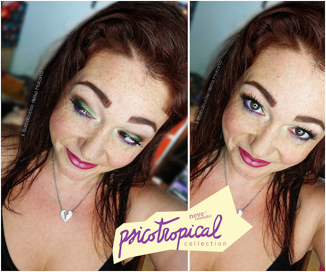 MAKEUP OCCHI psicotropical collection neve cosmetics
