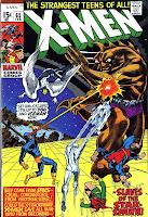 X-men v1 #65 marvel comic book cover art by Neal Adams