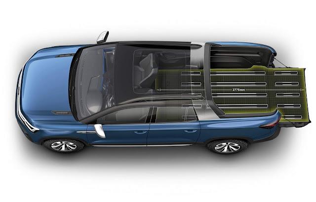 VW Tarok - picape concorrente da Toro