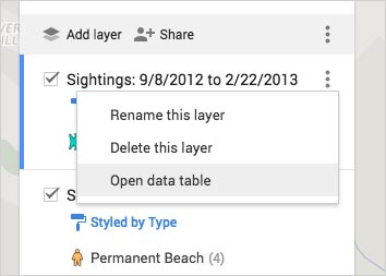 Search and filter your data on Google My Maps - GIS English on