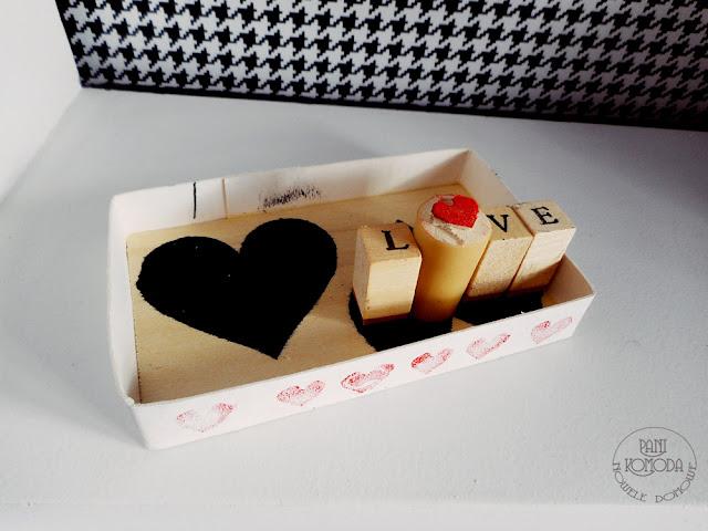pudełko DIY