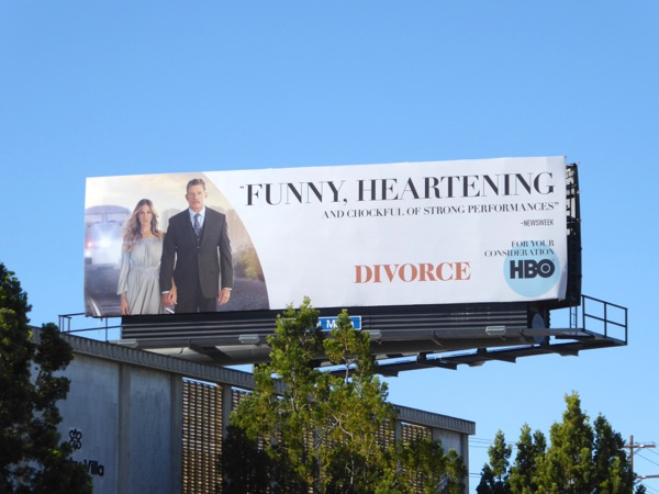 Divorce For your consideration 2016 billboard