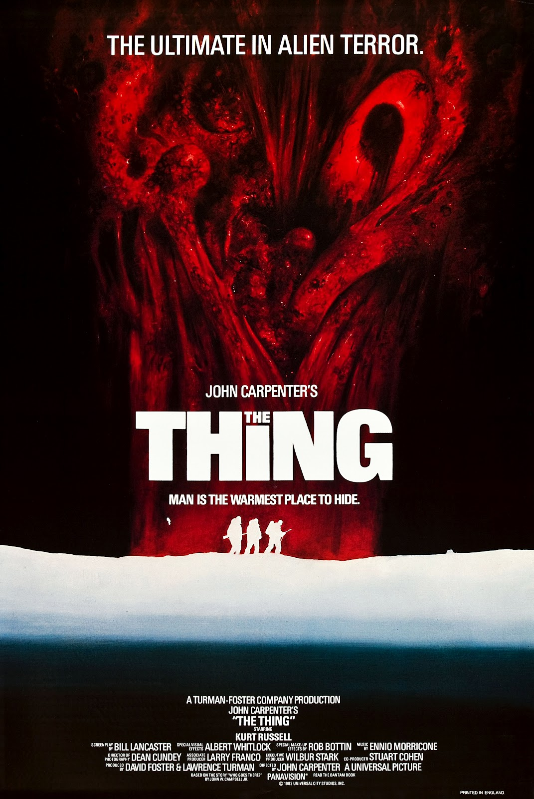 Poster design john foster - Movie Poster Art The Thing 1982