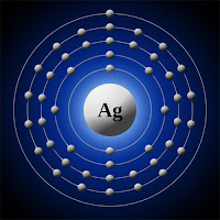 Gümüş atomu elektron modeli