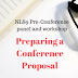 Recordings & resources on preparing a conference proposal