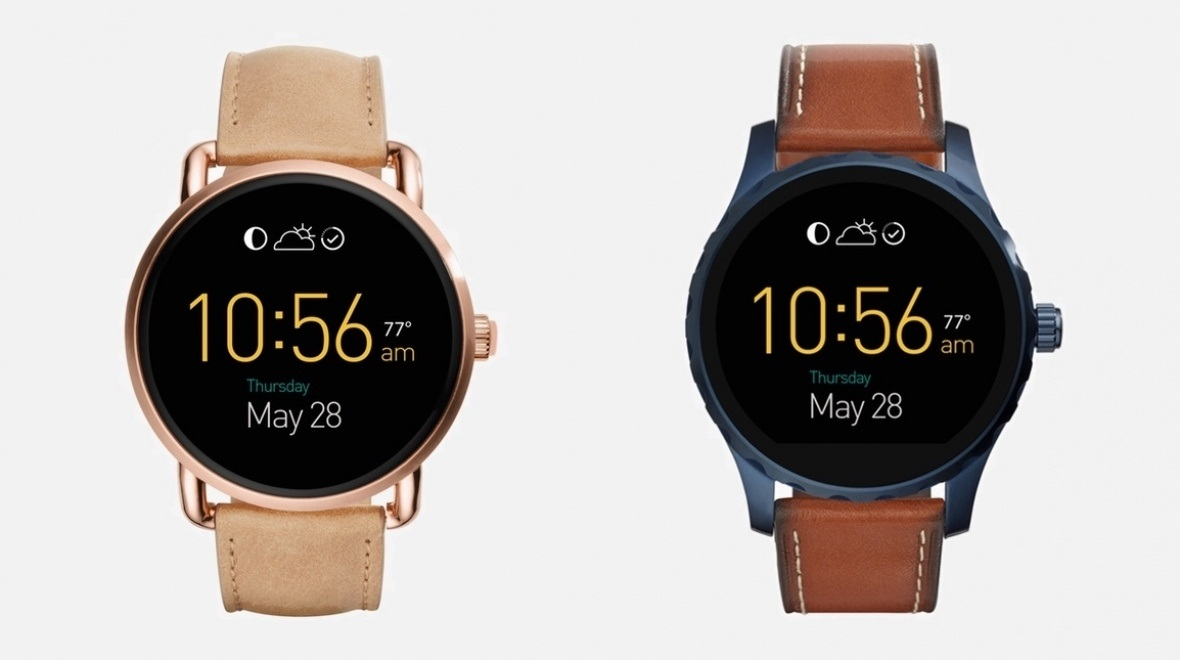 Fossil Q Marshal, Q Wander Android Wear Smartwatches ...