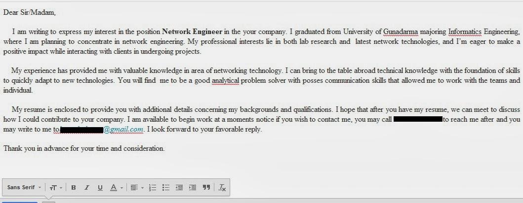 Contoh Cover Letter Di Bank Sample Resume Service