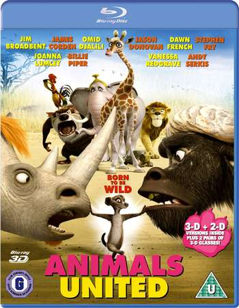 Poster Of Animals United 2010 English 300MB BRRip 480p Free Download Watch Online