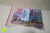 Verpackung: GWHOLE Stoffklammern Wonder Clips Nähen Zubehöre Kunststoff 60 Stück 6 Farben