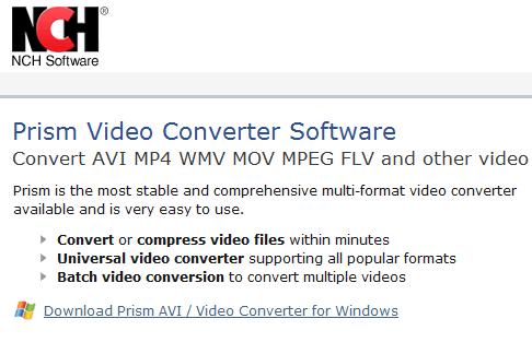Download Aplikasi vidio converter paling sederhana