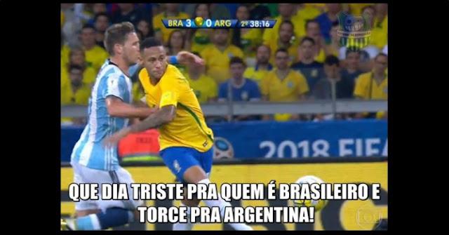 Confira os melhores memes da vitória do Brasil sobre a Argentina