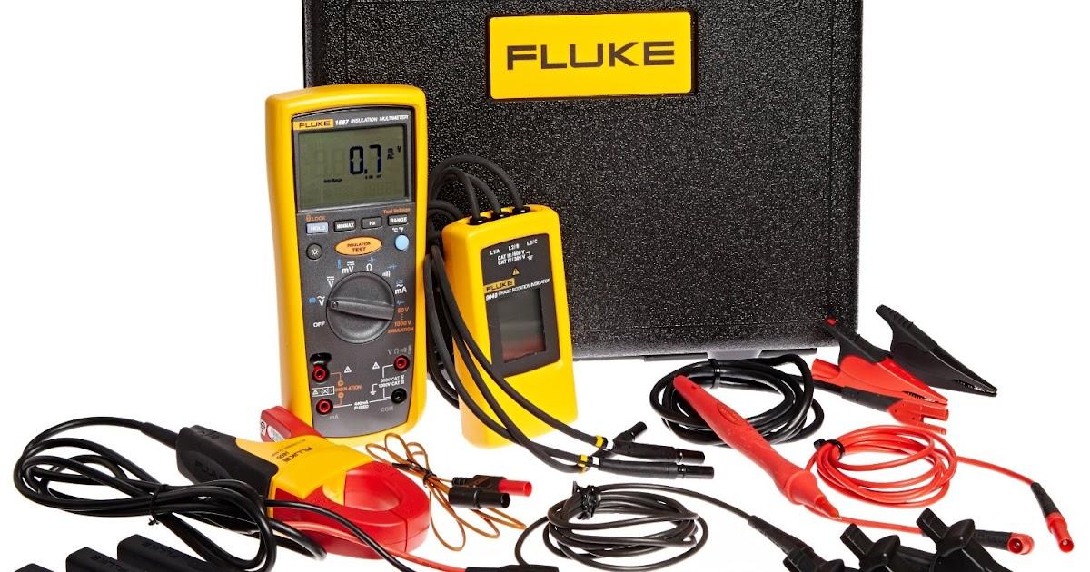 Hotdeal Fluke 1587 Mdt Advanced Insulation Motor And
