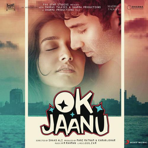 OK Jaanu Hindi Movie Audio CD Front Covers, Posters, Pictures, Pics, Images, Photos, Wallpapers