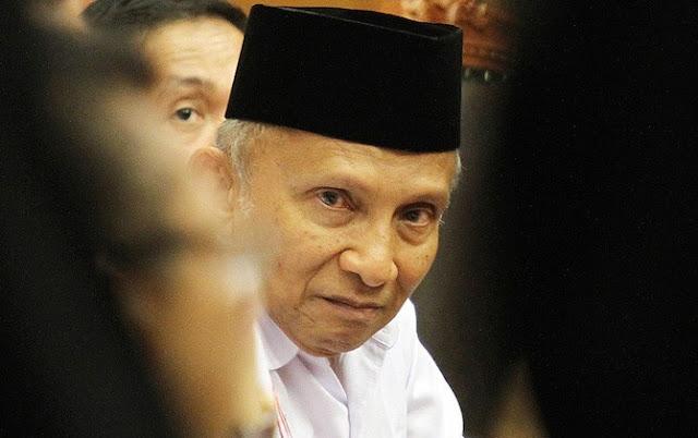 Cukuran KPK Buat Prof. H. Amin Rais di Bulan Penuh Berkah