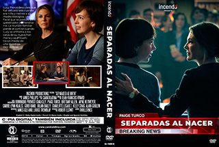 Separated at Birth - Separadas al Nacer - Cover DVD
