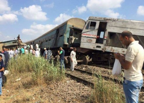 Train collision in Egypt leaves at least 28 dead and over 70 wounded