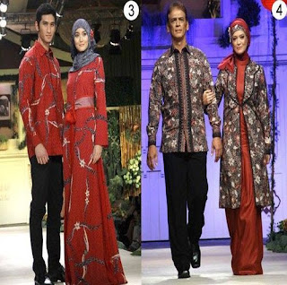 Model Baju Couple Bahan Batik