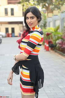 Adha Sharma in a Cute Colorful Jumpsuit Styled By Manasi Aggarwal Promoting movie Commando 2 (35).JPG